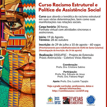 Curso: Racismo Estrutural e Política de Assistência Social