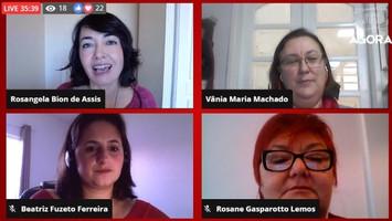 Entrevista ao vivo: Condições de trabalho no Sistema Único de Assistência Social de SC durante a pan