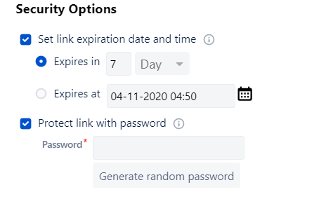 Security Options Jira Security