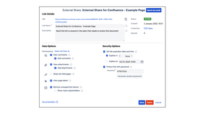 Share Confluence Pages with External Users