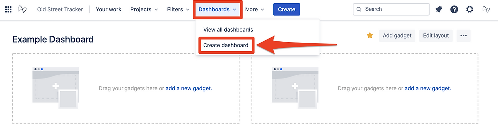 How to Create a Jira Dashboard