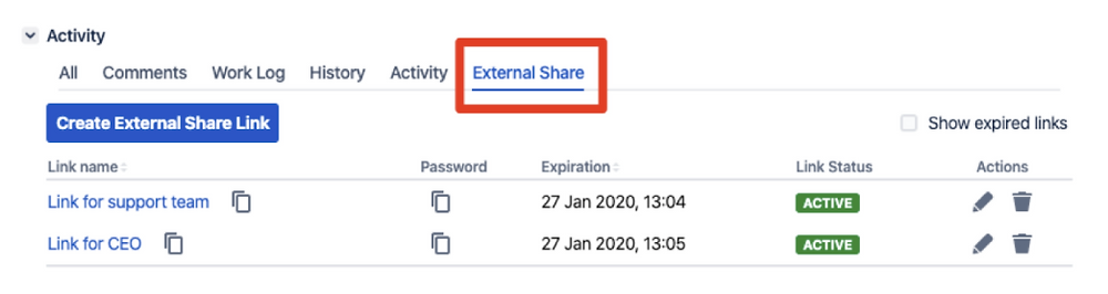 External Share Jira Issues with 3rd Parties
