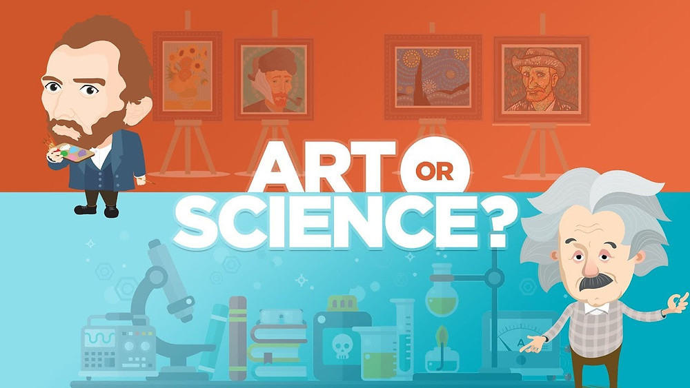 Because that is this tired old debate: Is marketing an art or science?