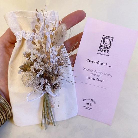 Carte Cadeau Bouquet de 20 à 40 euros
