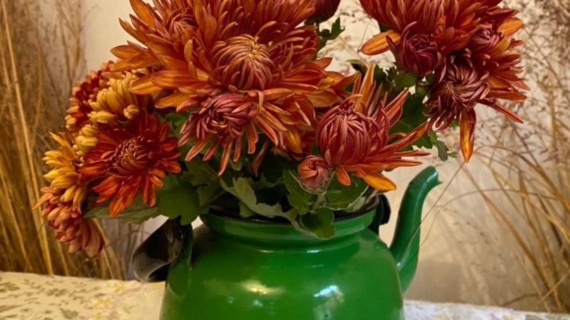 Bouquet de la semaine a la maison