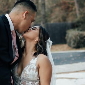 Modern Micro Wedding | The Oak Atelier in Conroe, Texas