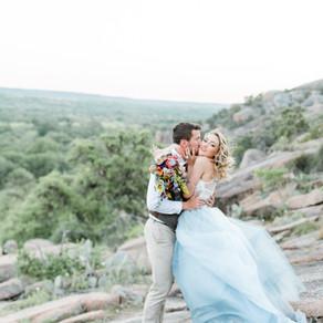 Enchanted Rock Elopement in Austin, Texas