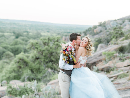 Enchanted Rock Elopement in Austin, Texas