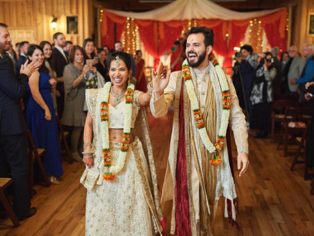 Traditional Red & Gold Indian Wedding