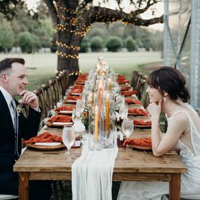 Warm and Earthy Backyard Wedding | Pattison, Texas