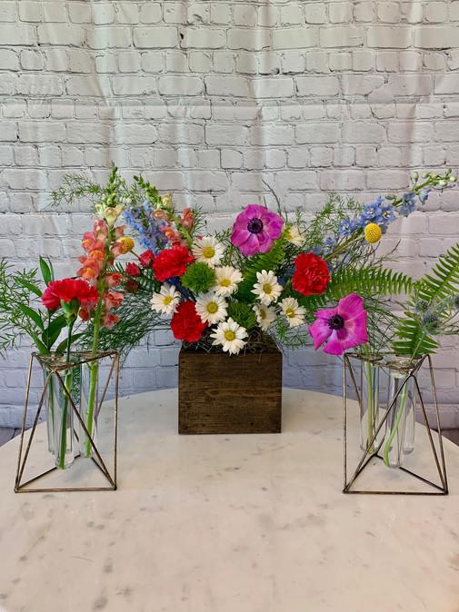 Tube Vase Holders
