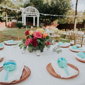 Bright & Bold Authentic Inspired Wedding | Houston, Texas
