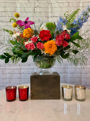 Red and Silver Votives