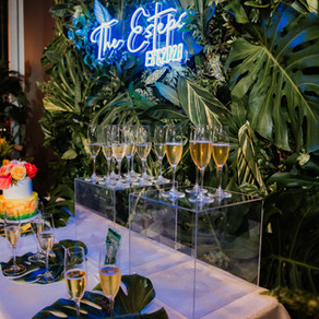 Cozy Tropical Micro Wedding in the City | The Grove in Houston, Texas