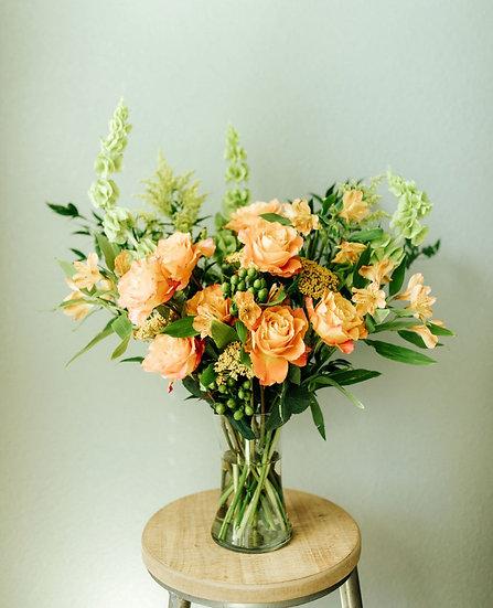 Large Arrangement - Designer Vase