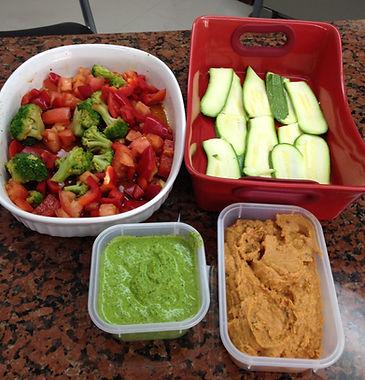 Lasaña de verduras con pesto , jitomate deshidratado y vegetales marinados