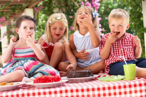 Alimentación infantil durante las vacaciones