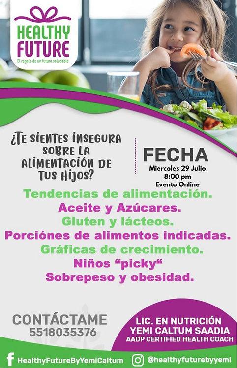 ¿Te sientes insegura sobre la alimentación de tus hijos?