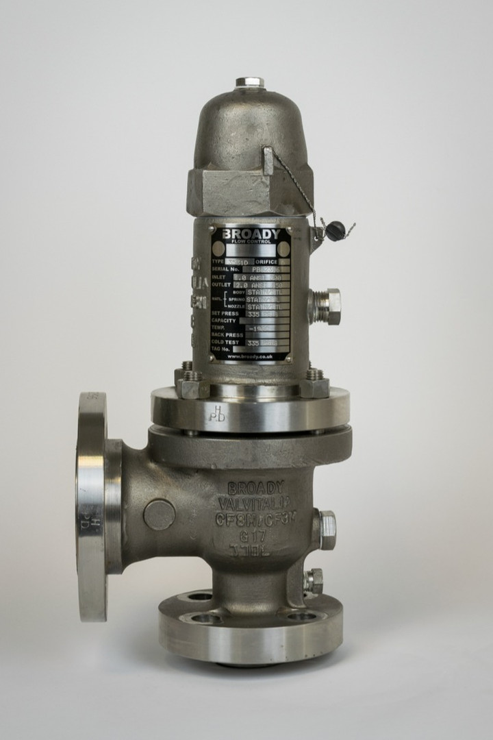 Broady Type 3500 Safety Relief Valve