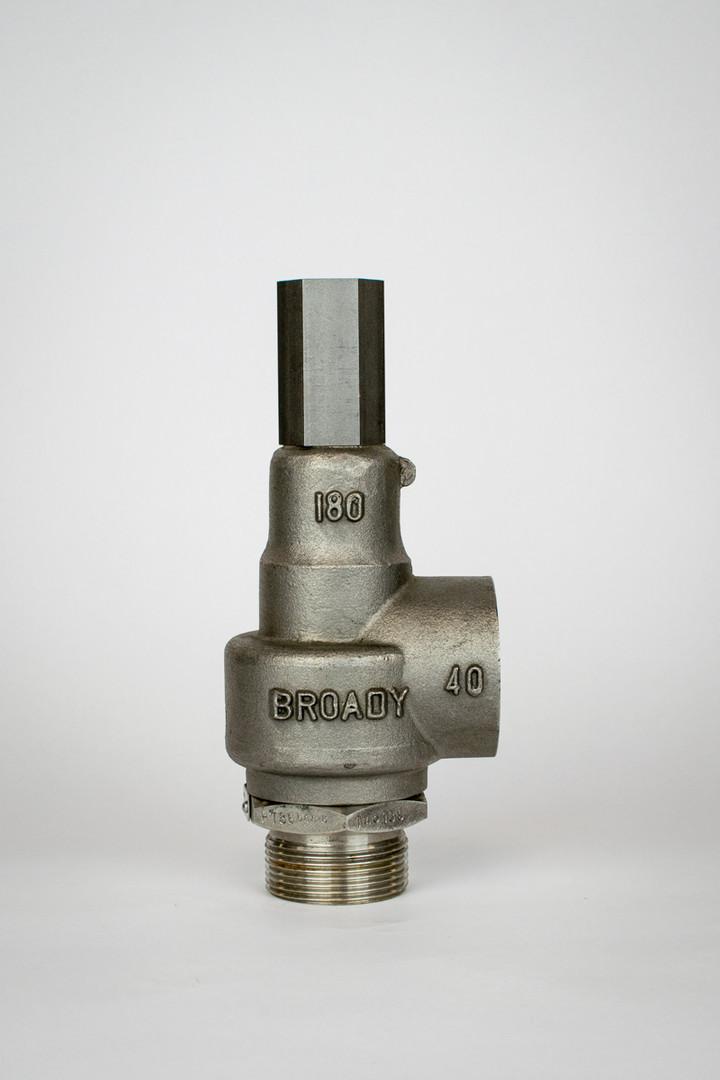 Broady Type 180/180-S Pressure Relief Valve