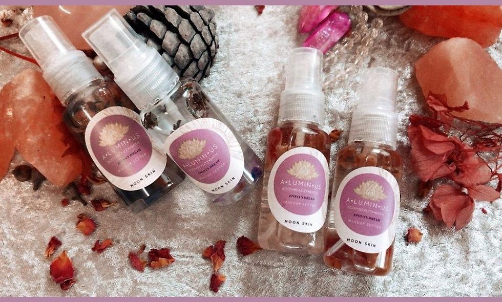 New! Aura Cleansing Mist makeup setting Spray