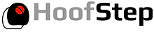 Hoofstep_loga_grå+svart_+_slogan_white_2