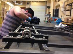 Fabricating MK I chassis