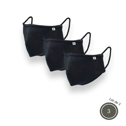 Set of 3 AIR PROTEX masks - ORIGINAL