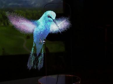 hologramme 3D