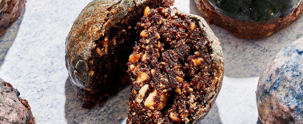 Lune Marbrée Cacao Noisette