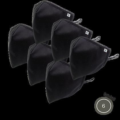 Lot de 6 masques AIR PROTEX - NEWSHAPE