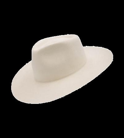 HAT - WHITE (High end felt)