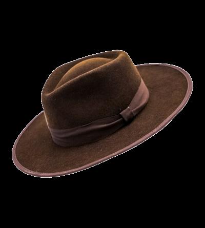 HAT - BROWN (Classic felt)