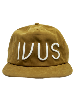 Cap Brown IVUS White