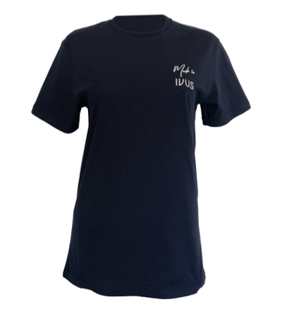 Made In IVUS t-shirt navy