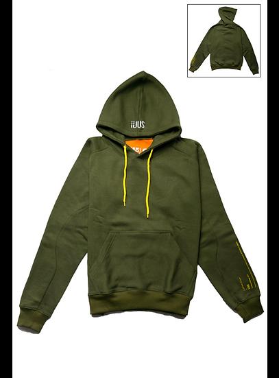 Hoodie Dark Green