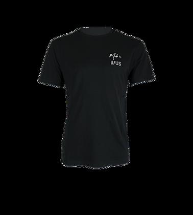 Made In IVUS t-shirt black bio