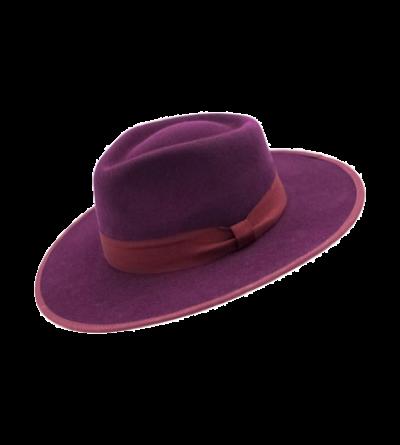 HAT - BURGUNDY (Classic felt)