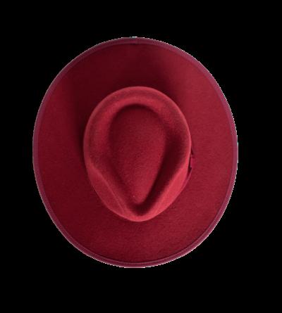HAT - RED (Classic felt)