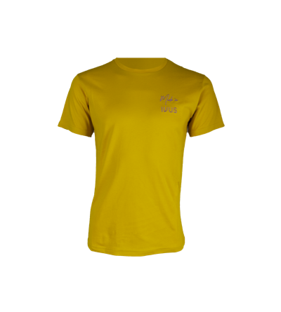 Made In IVUS t-shirt mustard
