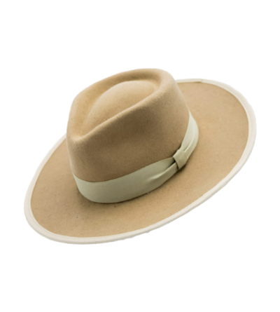 HAT - LIGHT BROWN (Classic felt)