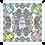 Thumbnail: Bandana - F I'm a Ghost - Grey