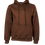 Thumbnail: Hoodie - Made In Square Brown