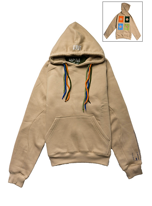 Hoodie Light Brown Square