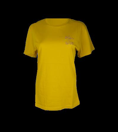 Made In IVUS t-shirt mustard