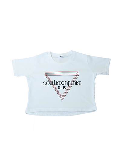Crop Top White ContreCulture