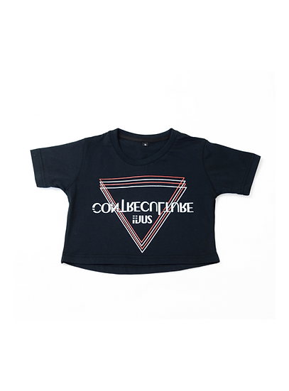 Crop Top Black ContreCulture