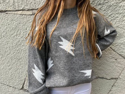 Bolt Oversized Sweater