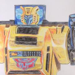 Transformers G1 Bumblebee Drawing