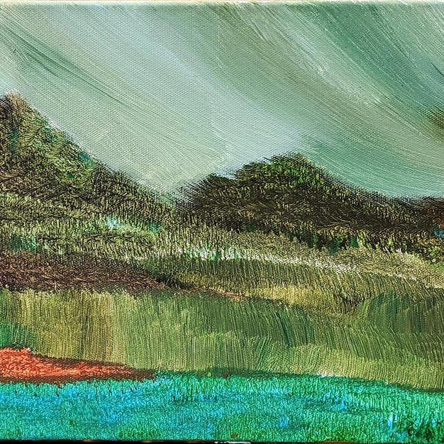 (SOLD) The Hillside Scenery